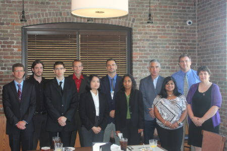 Pictured Left to Right; Tim White, Mike Shevlin, Jonathan Grimm, Brian Wakefield, Kim Voronin, John Rizzo, Sharada LaBadie, Mike Collins, Usa Reilly, Scott Bagley, Teresa Makowski