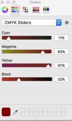 DOC Colors CMYK graphic