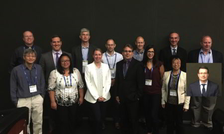 Back Row (L to R): Tim Braden (2018 Chair), Keith P. Moore , Chad A. Van Huis, Simon Planken, Dan Widlicka, Mark A. Nagy, Ronald C. Tomlinson; Front Row (L to R): Ngiap-Kie Lim, Mai Khanh Hawk, Melodie Christensen, Noel S. Wilson, Georgette Castanedo, Bo Liu, Michael P. Curtis