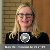 Thumbnail for the video of Kay Brummond's 2019 NOS Lecture