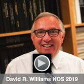 Thumbnail for the video of David William's 2019 NOS Lecture